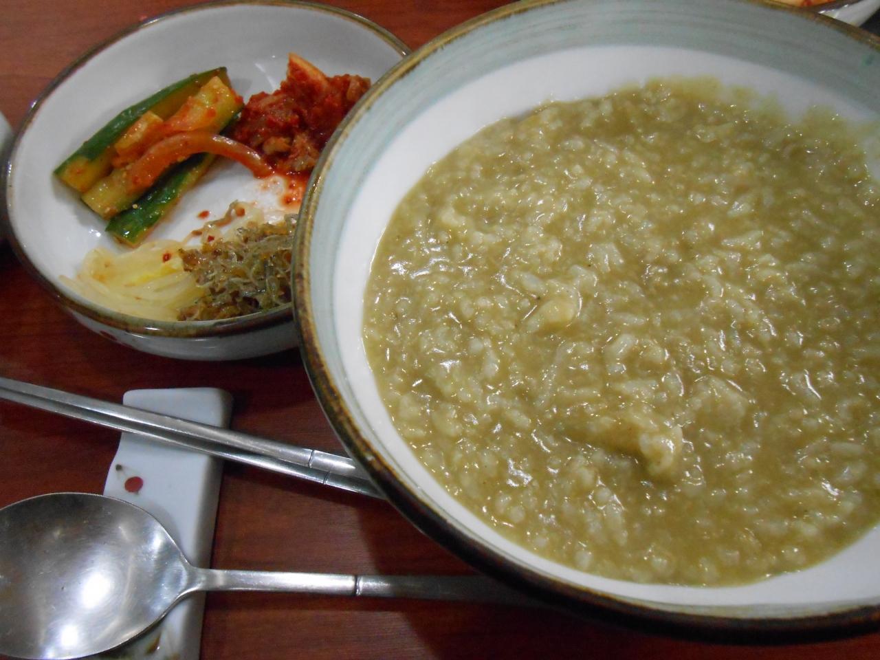 エスコートアガシと韓国料理 チョンボッチュク