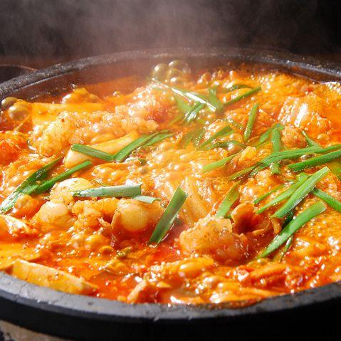 韓国エスコートアガシと韓国料理 コプチャンチョンゴル